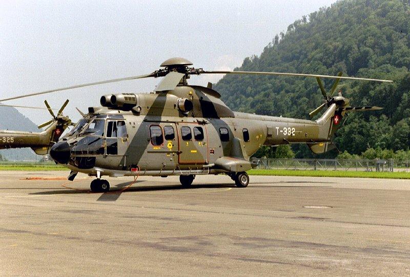 """空军世界 :: 法国航宇公司 / 欧洲直升机公司 AS332""""超美洲豹""""MkⅡ多用途直升机"""